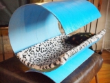 Дом для кошки из трубы