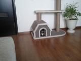 Дом для кошки сделанный своими руками