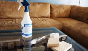 Как вывести запах кошачьей мочи на полу