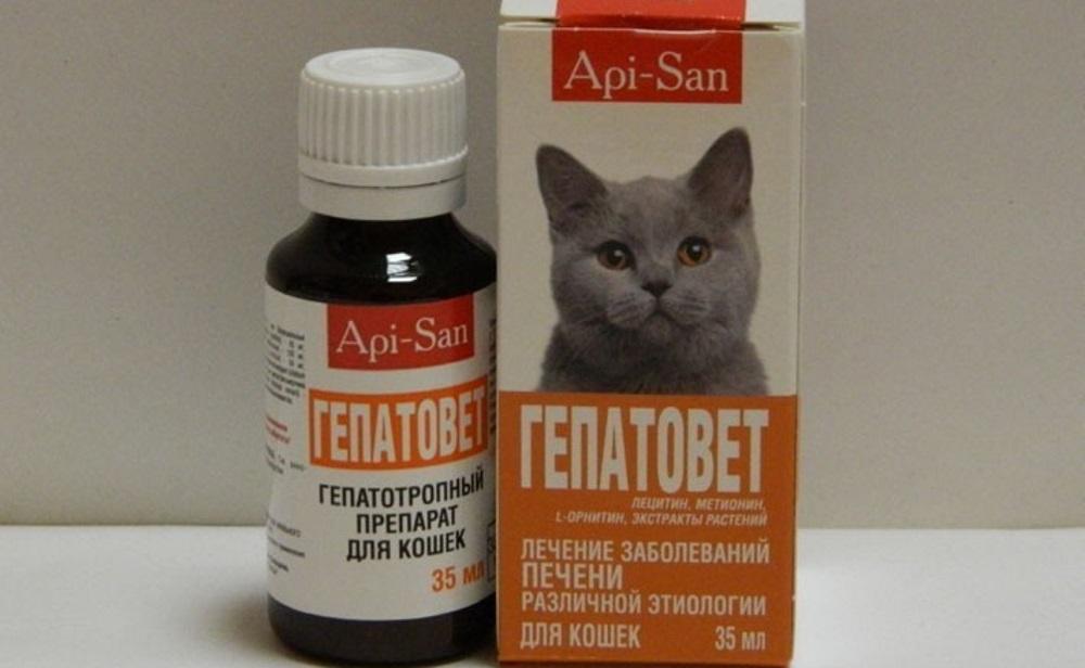 Препарат для кошек Гепатовет